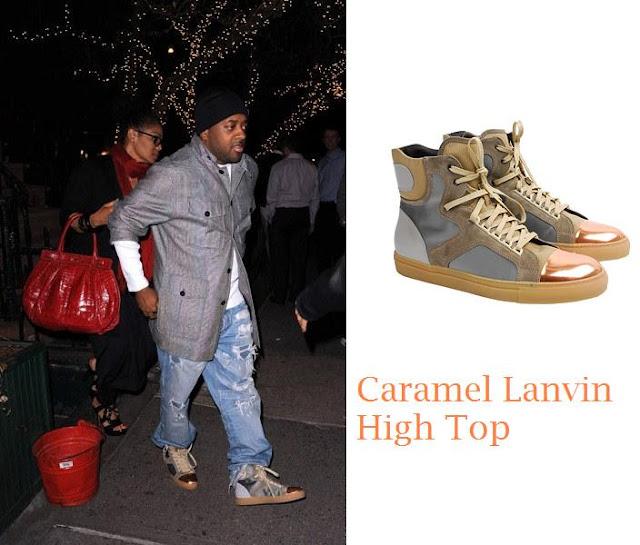 lanvin+jd Caramel Lanvin High tops