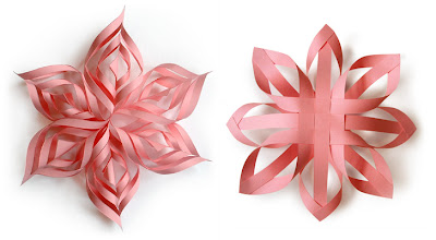 how to make 25 paper christmas ornaments