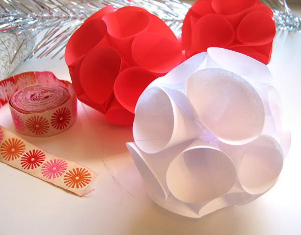 3D Paper Ornaments And Paper Flower Ornaments Free Tutorials By
