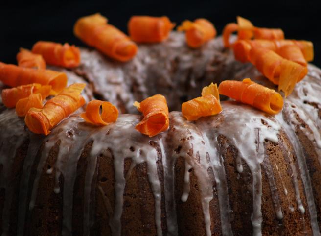 Carrot Cake Decoration Strawberry