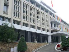 Saigon's old Presidential Palace