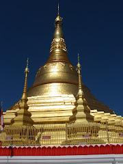 Burmese temple in Tachileik