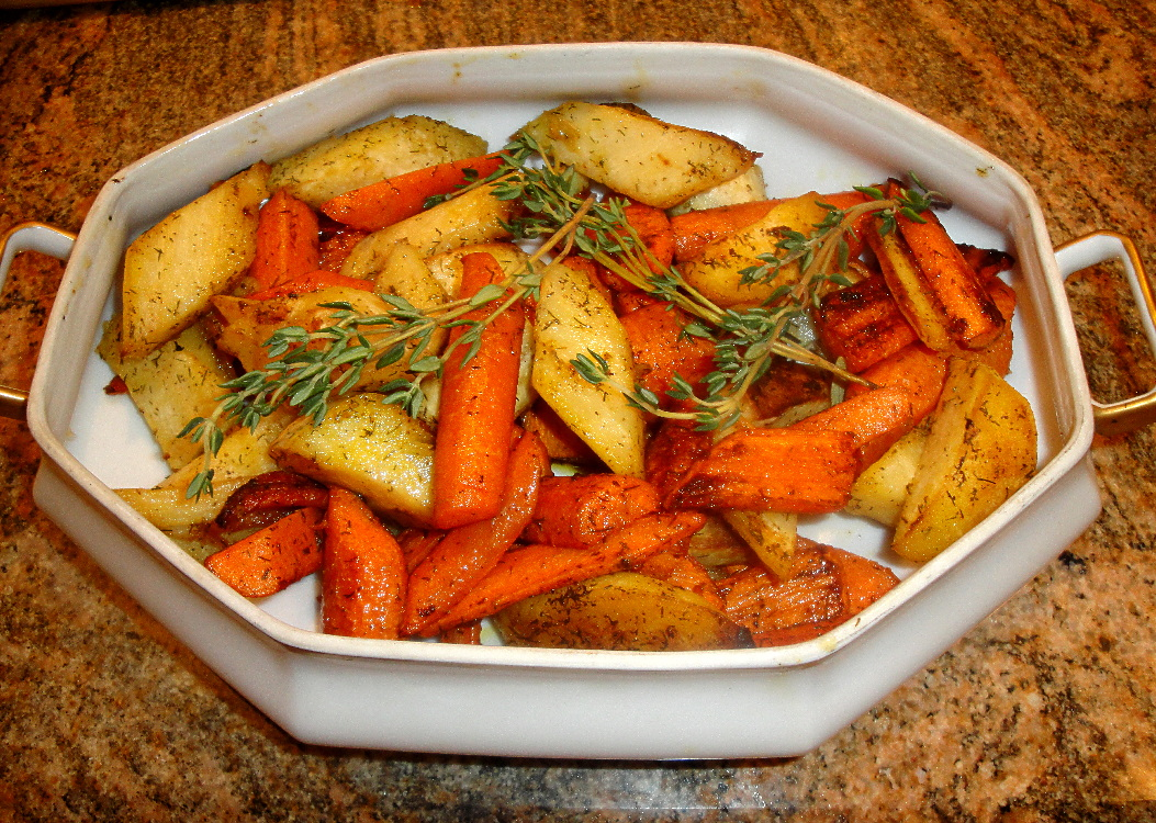 Fairytale Roast Parsnips and Carrots