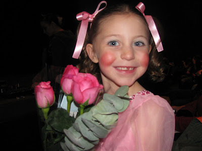 Madison at the dance recital