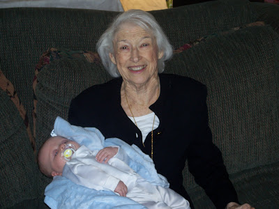 Ethan and Grandma Dorman