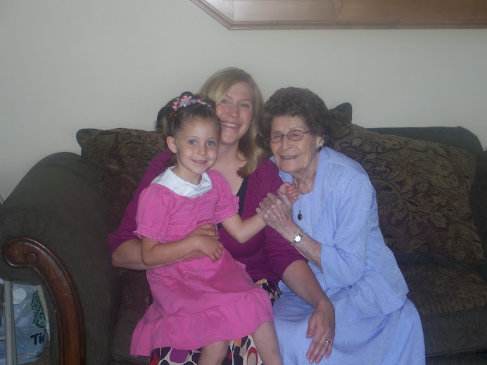 Grandma Greene, Madi and I