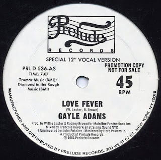 GAYLE ADAMS - LOVE FEVER (SPECIAL 12