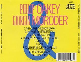 Giorgio Moroder & Philip Oakey - The Album