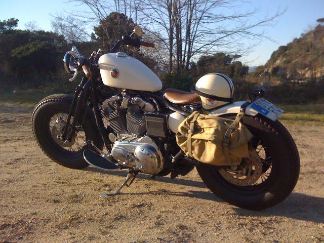 Gascap Motor S Blog Old Black Bones A Hd Sportster 883