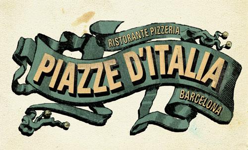 Cartas Restaurante Piazze d'Italia, Barcelona | Alex Ramon Mas ...