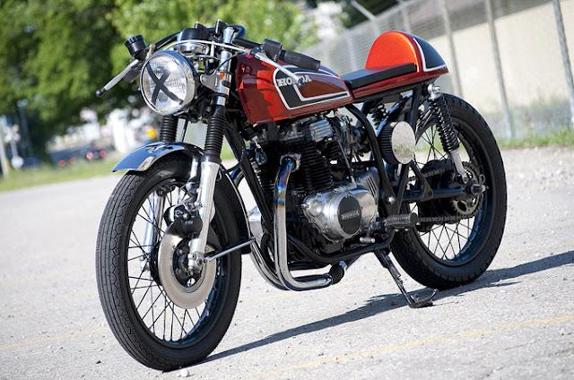 honda 360 cafe racer. Honda CB360 Café Racer