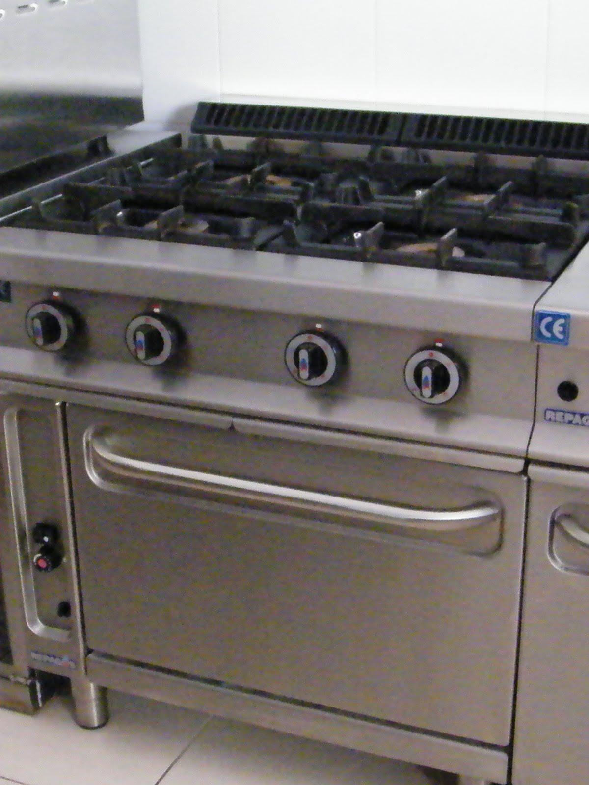 Venta material hosteleria segunda mano cocina gas 4 - Cocinas industriales segunda mano barcelona ...