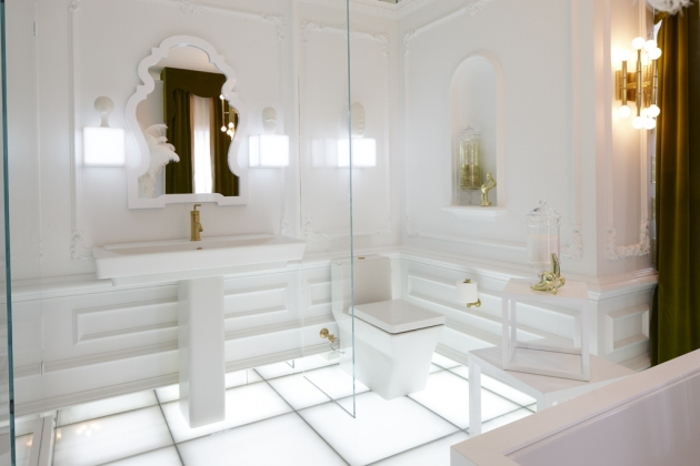 Well, Brace Yourself For This Spectacular Bathroom At Kohler In  Wisconsin...Jonathan Adler Visited Last Month To Open The Room At The Kohler  Design Center ...