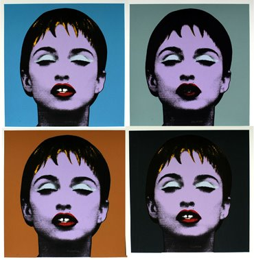 Nelson Villalobos. Serie Madonna