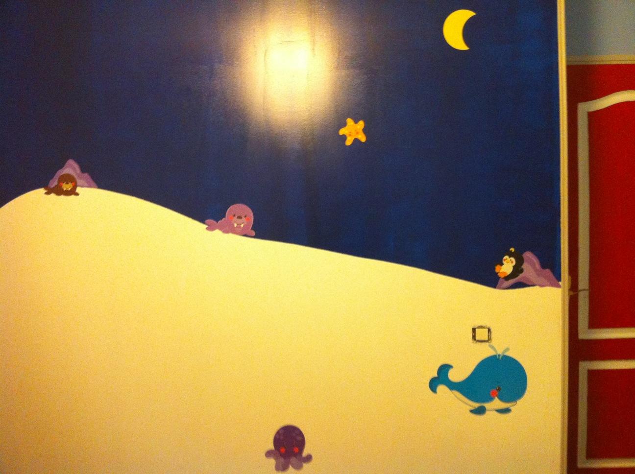 Decoration salle de jeux id es et conseils d co decoration salle de jeux - Pose stickers muraux ...