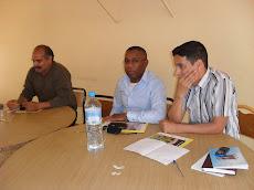 لــقــاء تواصلي مع تلاميذ ثانوية أحمد بنـاصر التأهيلية بزاكورة، في: 26 مارس 2010م