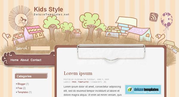 free html blog templates - art blogger template free download art blogger template