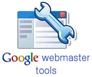 Logo Google Webmaster Tools