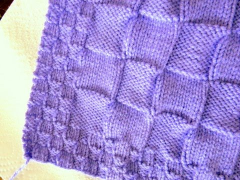 EASY BASKETWEAVE BABY BLANKET PATTERN Sewing Patterns for Baby