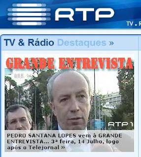 © RTP - Imagem site RTP