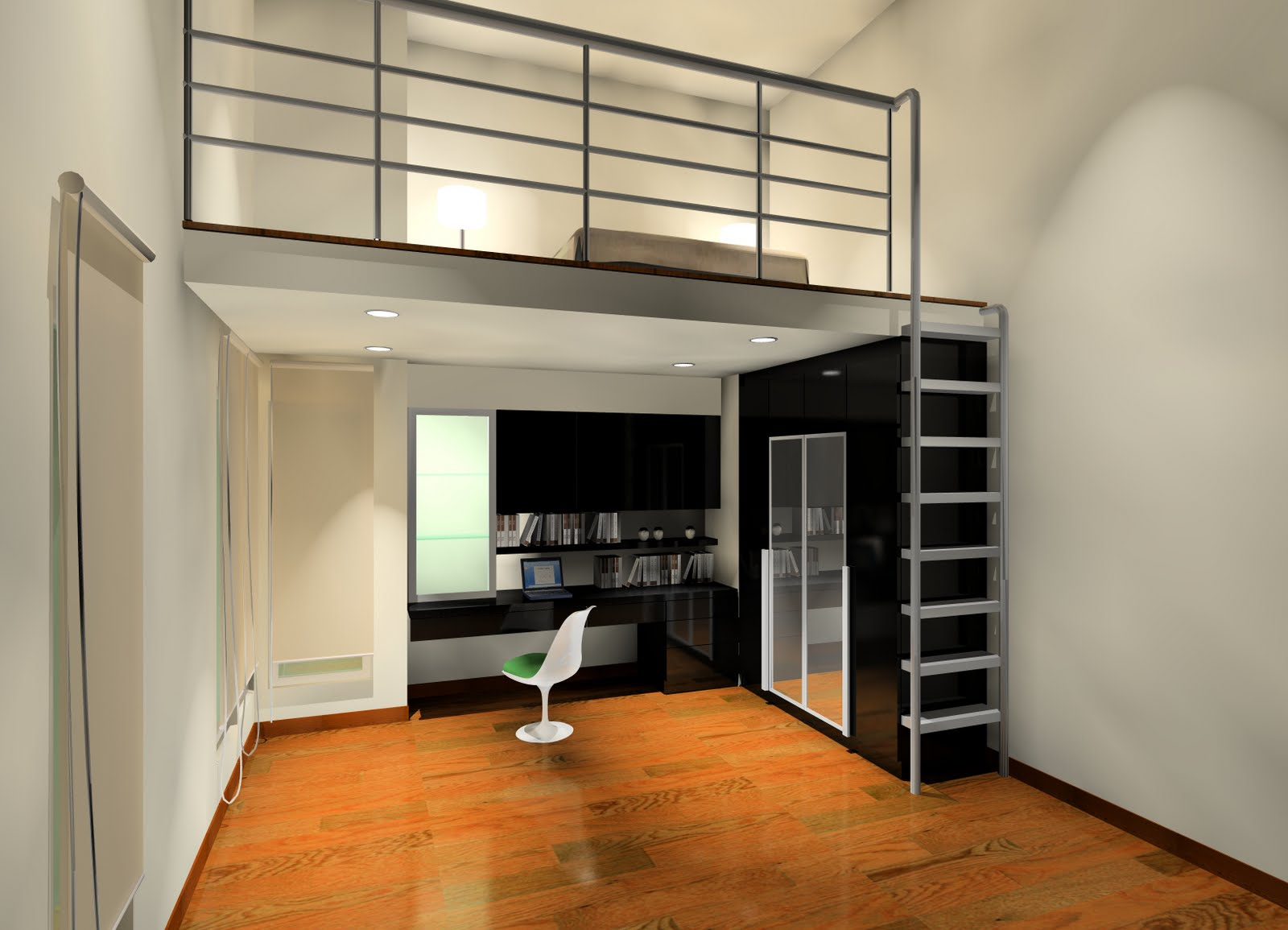 bedroom mezzanine design home decoration live. Black Bedroom Furniture Sets. Home Design Ideas