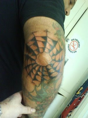 spider web tattoos on the elbow lebron james arm tattoo