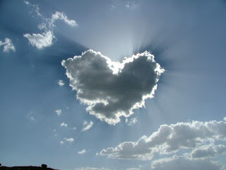 attractive valentine cloud picture
