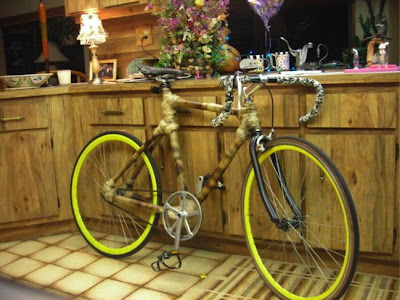 Bike Snob Lone Wolf homemade bamboo bicycle