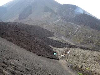 Heading for the lava - Volcan Pacaya
