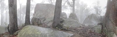 Four Brothers Rocks - Bunyip State Park