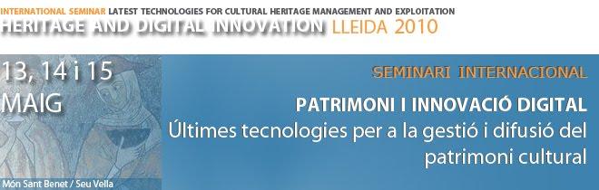 Heritage Technologies Lleida 2010