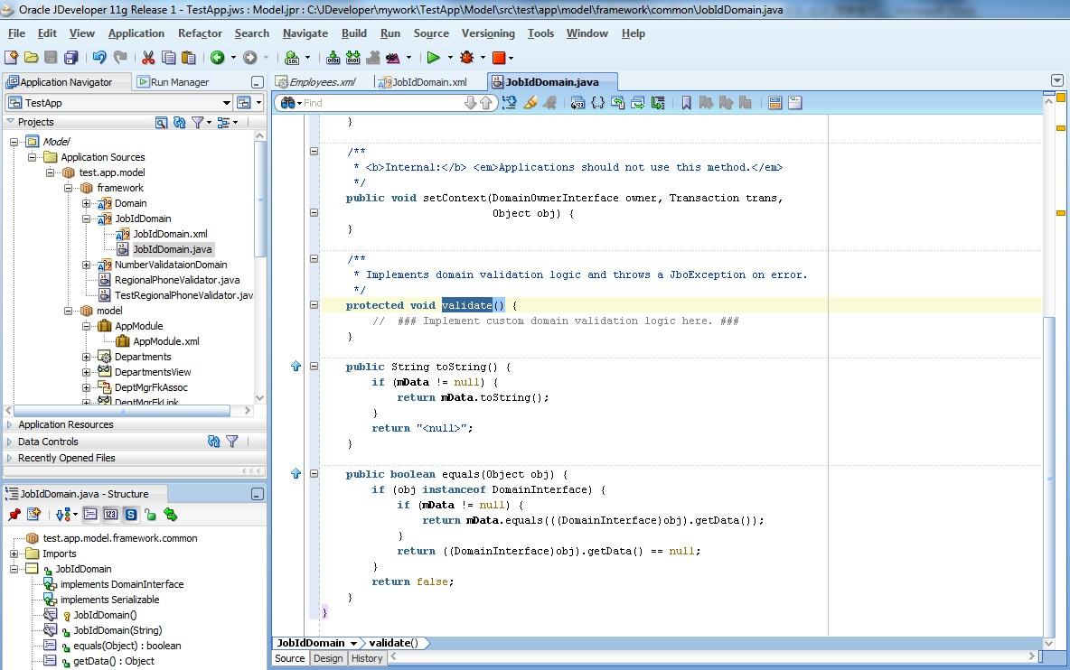 Framework Middleware Jdeveloper Validations In Adf Validation