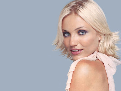 wallpaper nice face. Cameron Diaz Beautiful Face