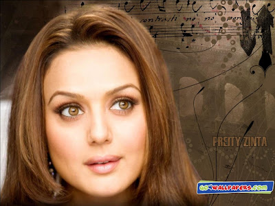 Lovely Face Preity Zinta