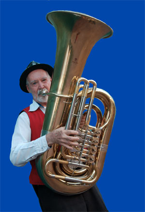 how to play tuba notes