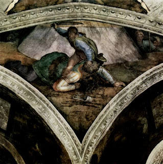David And Goliath Painting By Michelangelo Art Smarts 4 Kids: Mic...