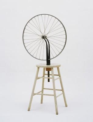 Foda-se! Duchamp+Bicycle+Wheel