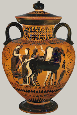 Art smarts 4 kids ancient greece part ii archaic period for Ancient greek pottery decoration