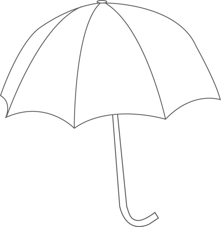 Printable Umbrella