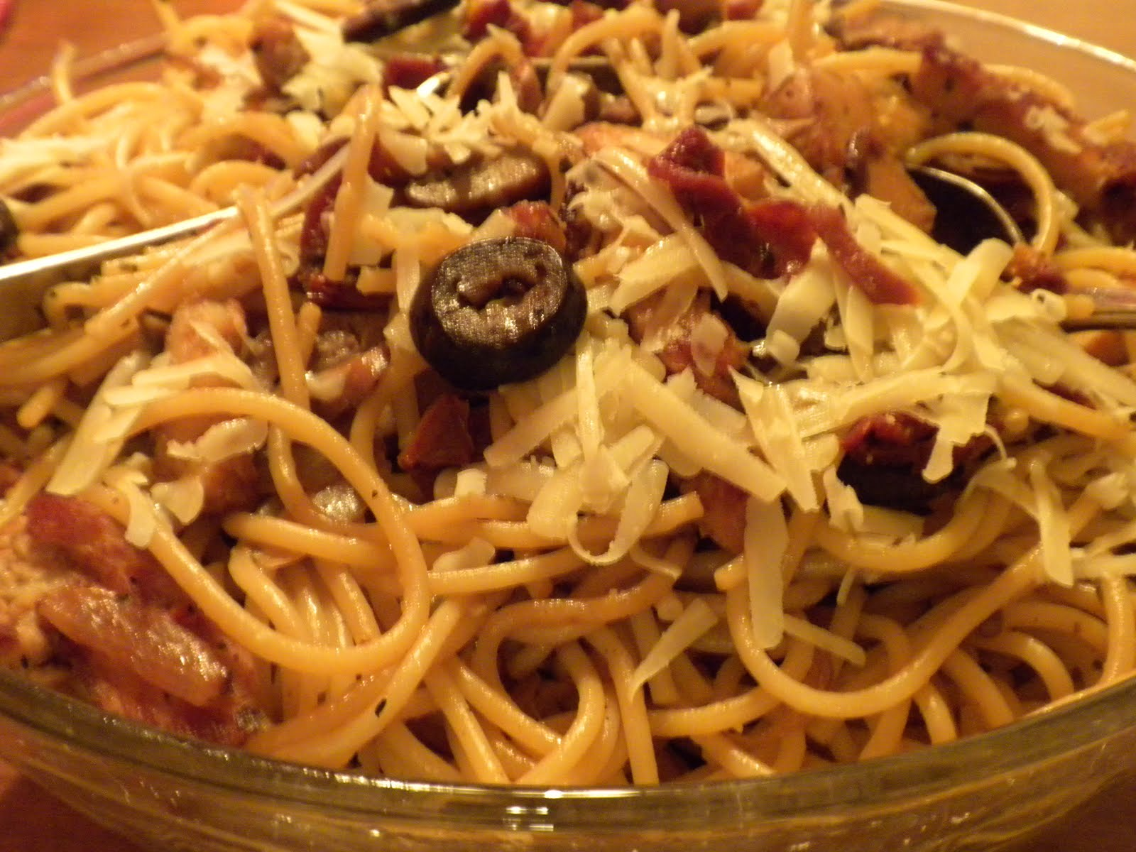 pasta and garlic combination hits the spot being a flavorful quick ...
