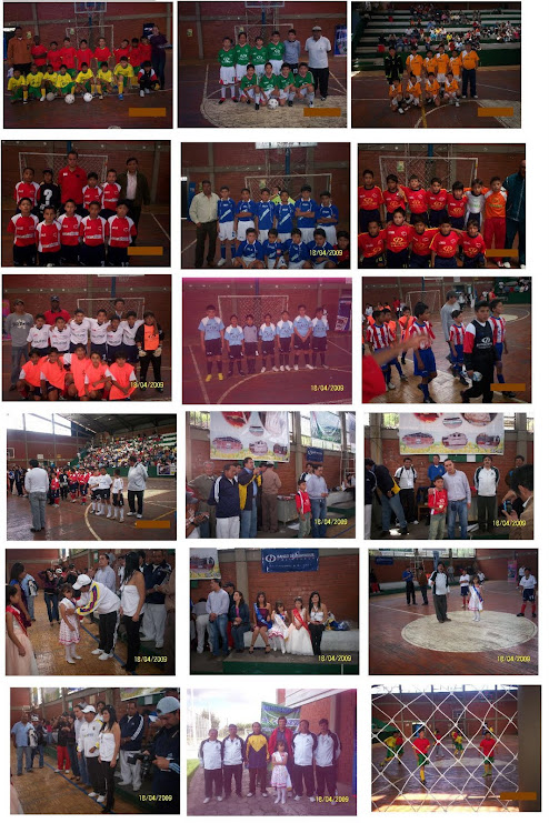 IMAGENES DE LA INAUGURACION DEL TERCER MUNDIALITO DE BABY FUTBOL 2010