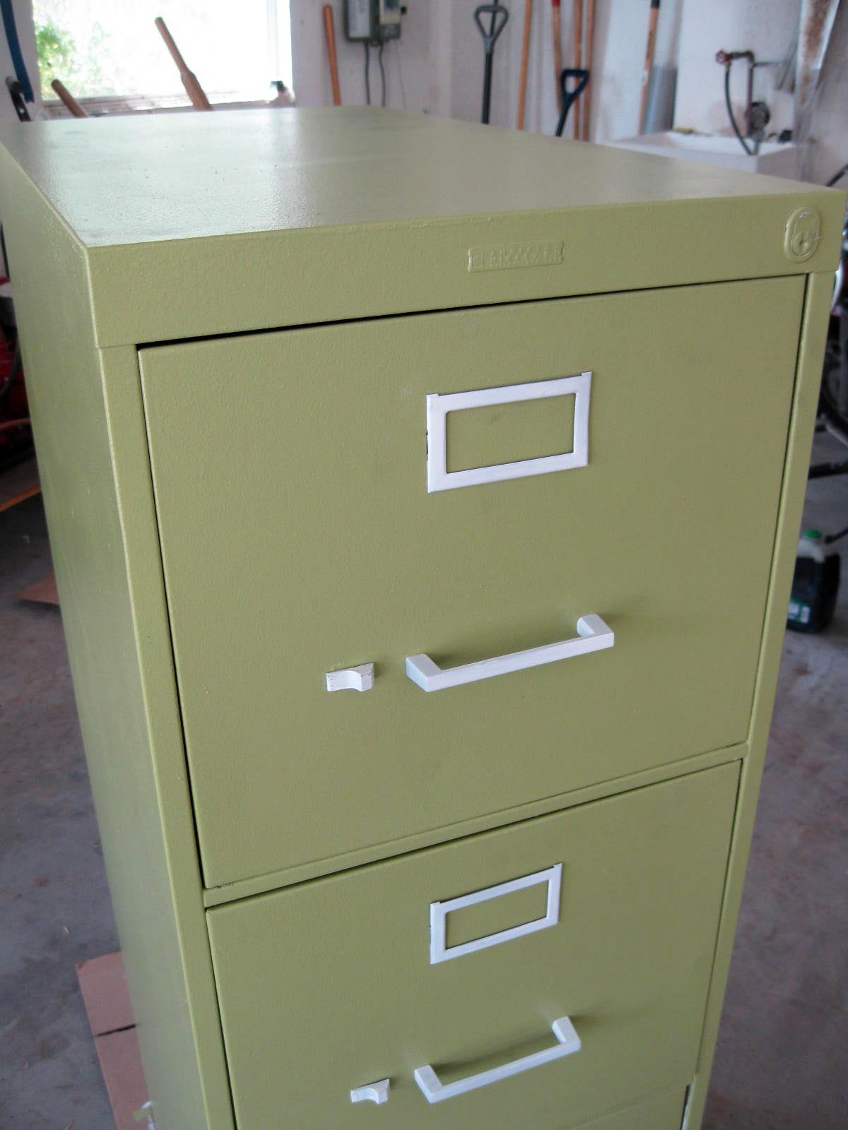 Green File Cabinet Running With Scissors Junk
