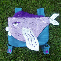 Детские рюкзаки - примеры веселых сумок для детей для шитья своими руками.