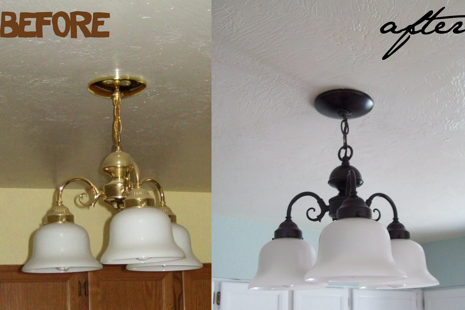 Lighting Makeover On A Budget