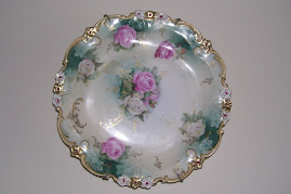 Roase Plate From Prussia