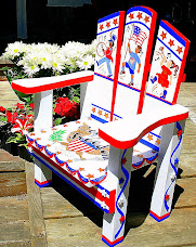 July 4th Kids Chair