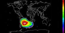 anomalia magnética Atlantico Sul