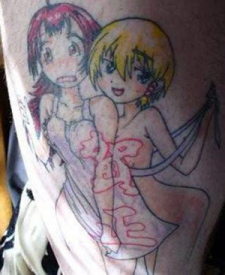 Re: video game tattoos. Posted: Fri Aug 14, 2009 11:34 pm. Ani tattoo Mania!