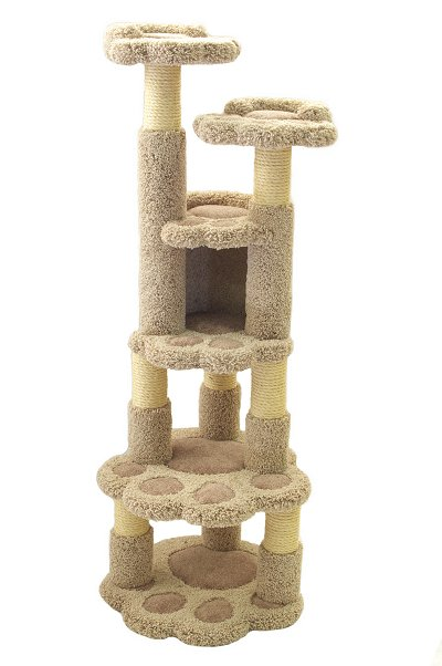 Cats june 2010 for Cat tree blueprints