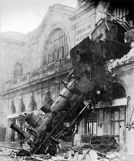 1895 Montparnasse tren kazası